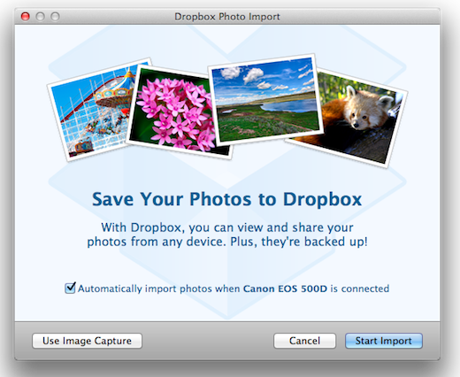 dropbox2 Auto import for photos and videos coming to Dropbox, and you can try it right now