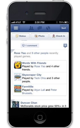 facebook gaming notifcations mobile What 2012 holds for Facebook