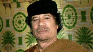 gadhafi 300x168 Hosny Mubarak and Wael Ghonim top list of Googles most searched for people in Egypt