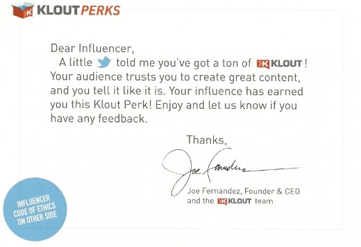 kloutinfluencer 520x356 Confessions of a Klout Influencer: From Warhol Inspired Bottles to Demand Media's Next Tech Star