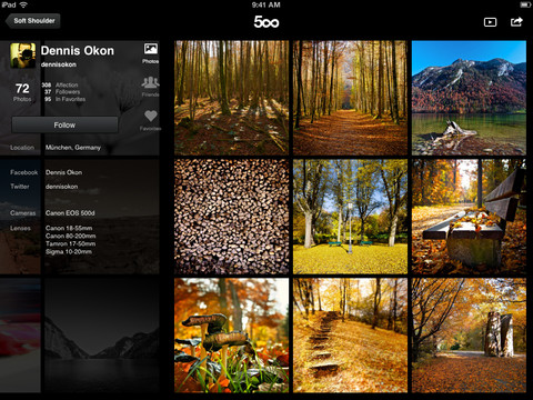 mzl.oruracyx.480x480 75 500pxs iPad app now lets you follow your favorite photographers