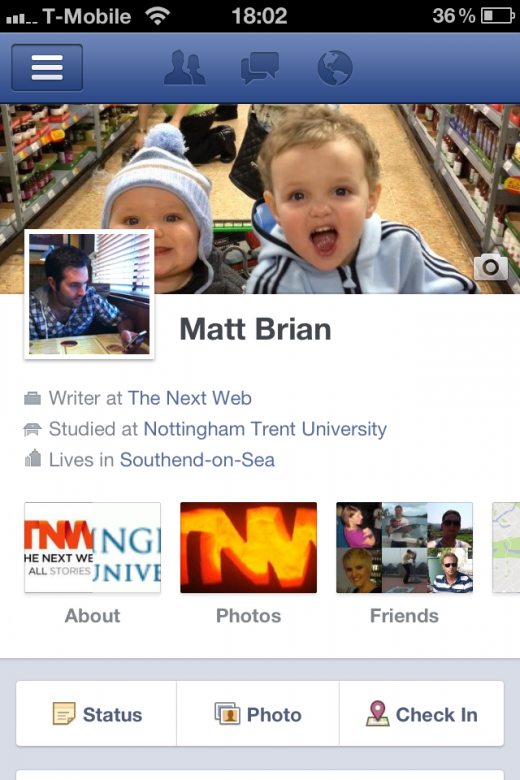 photo 19 520x780 Facebook updates its iPhone app; delivers Timeline, Friend Lists and more