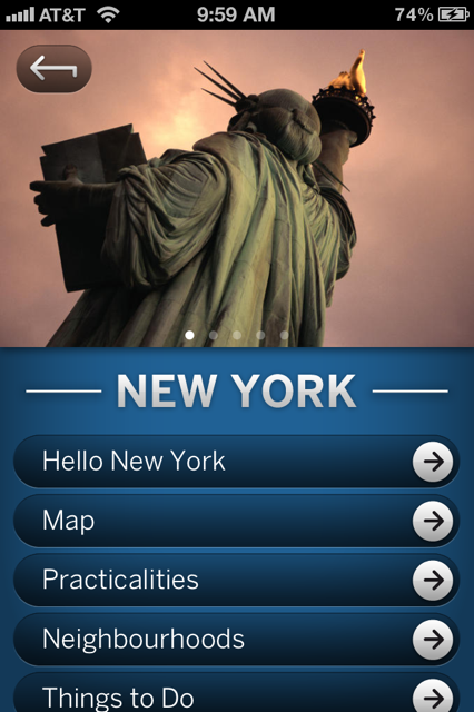 photo 34 Lonely Planets iOS guide to NYC goes free until December 15th