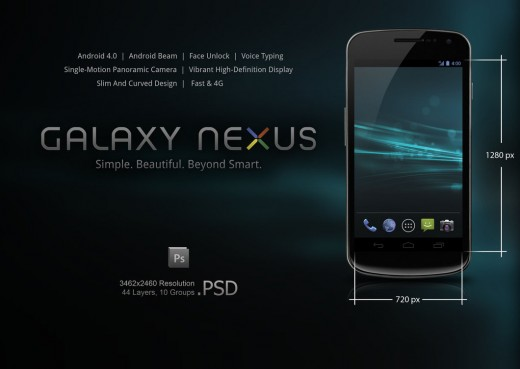 samsung galaxy nexus  psd by slaveoffear d4f72dg1 520x369 13 iPhone, Android and Nokia PSDs for killer mobile mockups