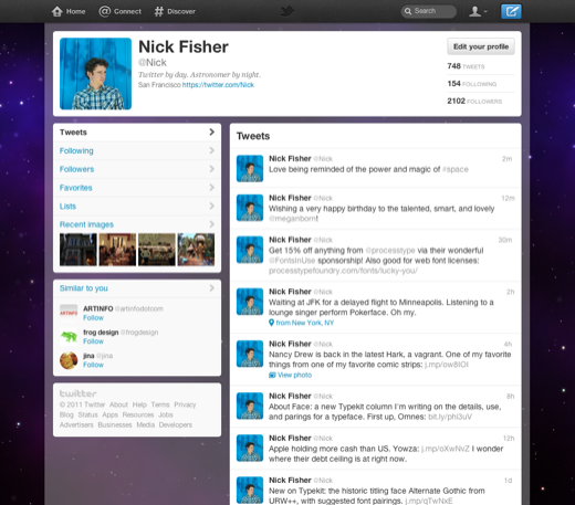 section me 1 web en The new Twitter is all about simplicity, discovery and usability
