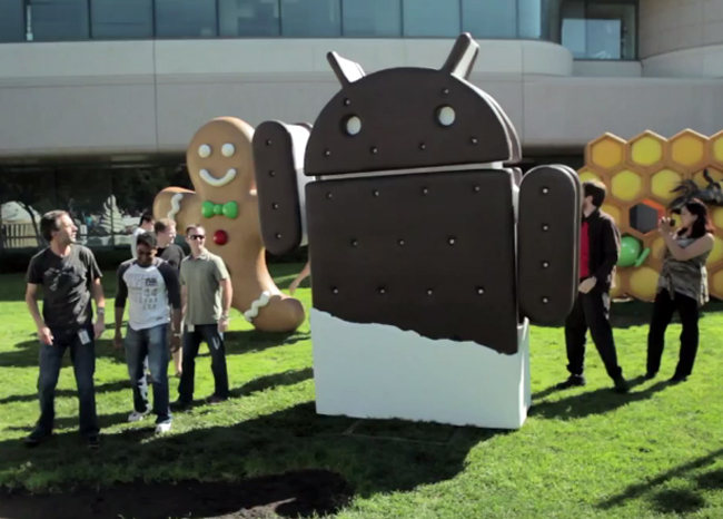 Ice Cream Sandwich Now on 0.6% of All Android Devices