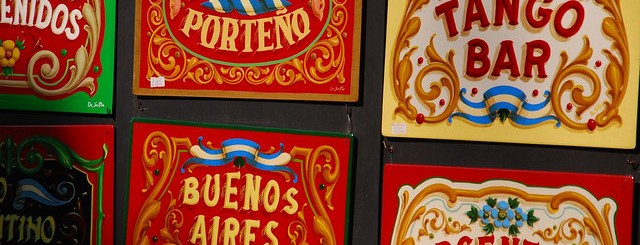 Buenos Aires signs by magical world