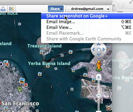 Google Earth Google Earth gets prettier and more social with Google+ sharing