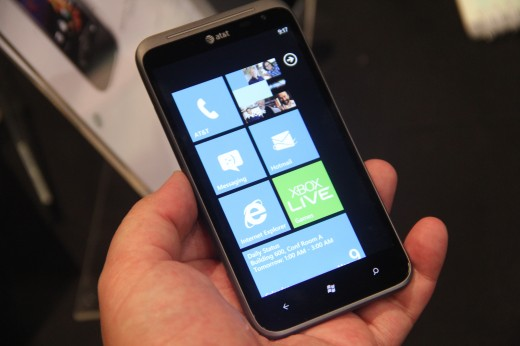IMG 5678 520x346 We go hands on with the 16 megapixel HTC Titan II LTE [Video]