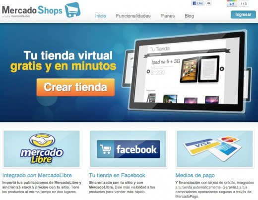 MercadoShops 520x404 Toldo wants to let Spanish speakers create a nice online store in a few clicks