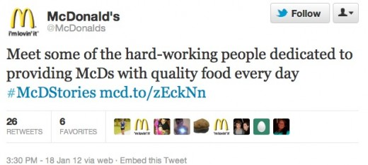 Screen shot 2012 01 24 at 4.01.58 PM 520x234 Why #McDStories Didnt Have a Happy Ending