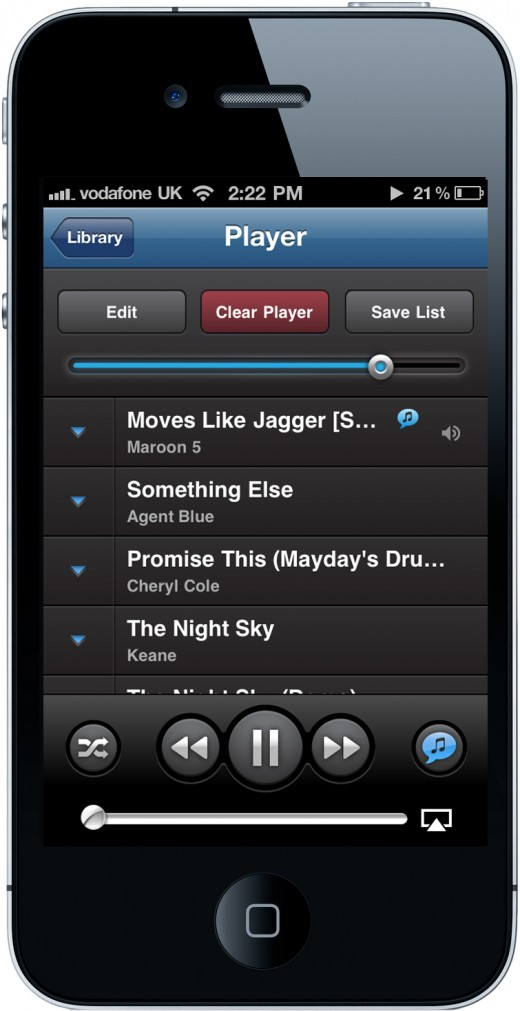 Shazam Player Build In The Moment Lists 520x1011 Shazam moves beyond tagging to launch Shazam Player, its unique new music app