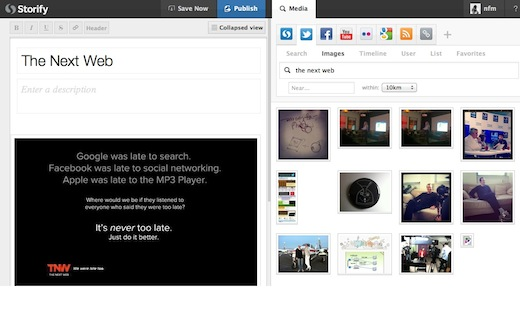 Storify2 Storifys new Wordpress plugin lets you create stories directly from your blog