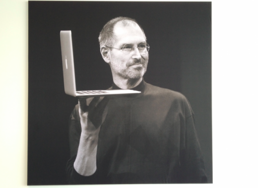 air 520x380 How Apple remembers Steve Jobs at its Cupertino campus [Images]
