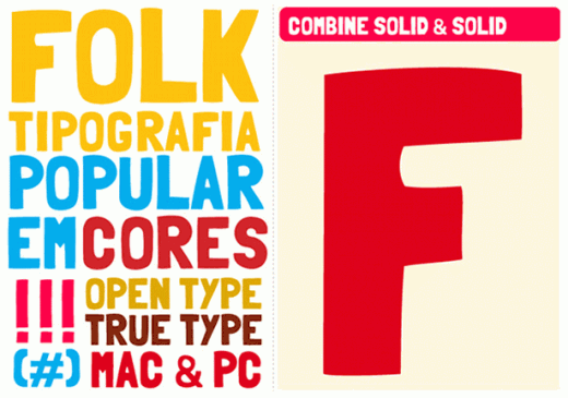 fonts 821 folk 520x365 9 Awesome free display typefaces you can download right now