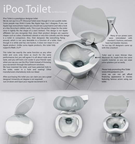 iPooToilet 520x554 The iPoo toilet