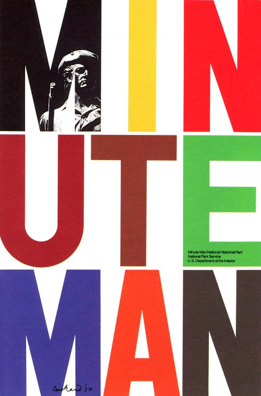 minute man 1 520x789 Design Flashback: 13 delicious posters from the 1970s