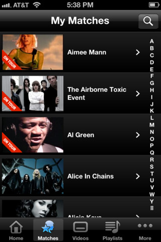 VEVO launches a new music video Match service for its UK iPhone app