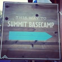 this way to summit basecamp sign 220x220 Summit Series Basecamp: Embracing entrepreneurship at 6,000 ft