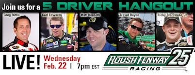 5driver NASCAR racing team turns to Google+ Hangout to prep fans for Daytona 500