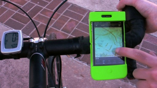 6 520x292 The Mounty Kickstarter project is a quick, clever handlebar mount for your iPhone