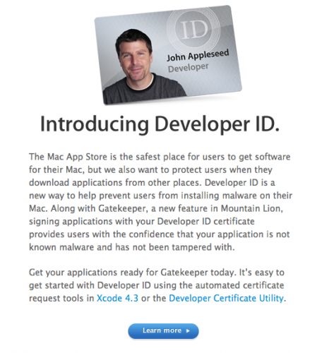 71989 Apple prompts Mac developers to sign up for the Developer ID program