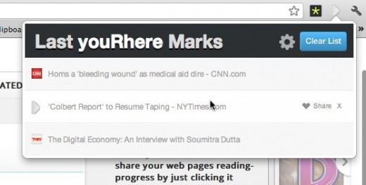 Chrome Web Store youRhere 520x263 This handy bookmark extension for Chrome will save the exact spot where you left off