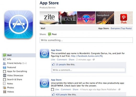 Convofy 130 520x370 Apple utilizes Facebooks platform pretty well even though theyre not partners