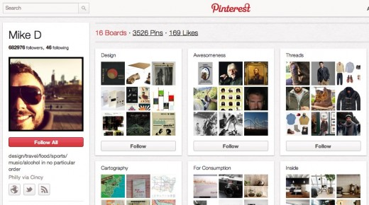 Convofy 143 520x290 Meet the top male user on Pinterest who doesnt work for them