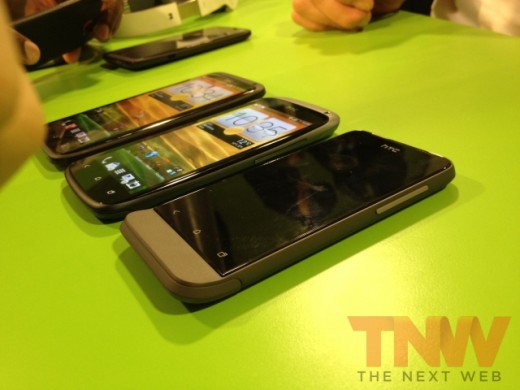 IMG 1743wtmk 520x390 Hands on with HTCs new One series smartphone lineup [Photos]