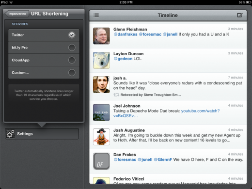 Photo Jan 30 2 03 29 PM 520x390 Tweetbot for iPad is a classic Twitter experience with a speedy gesture focused interface