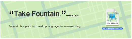 Screen Shot 2012 02 09 at 2.29.02 PM 520x155 Fountain is a new markup language for writing screenplays