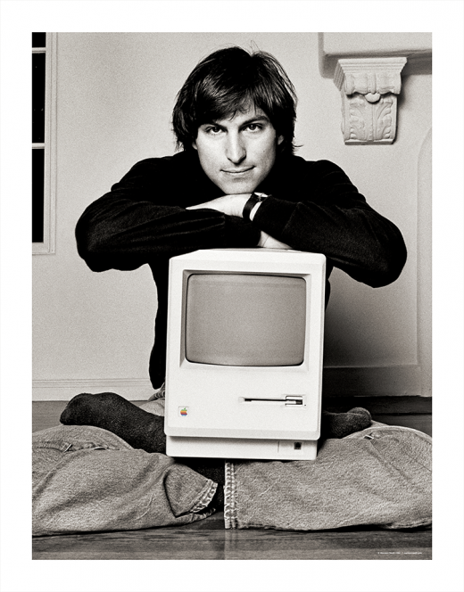 SteveJobs S15 F30 lithoprint 520x664 You can now snag a lithograph of one of the most famous Steve Jobs photos ever