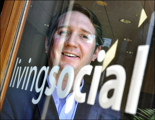 LivingSocial CEO Tim O'Shaughnessy steps down from the company he say is now 'stable and healthy'