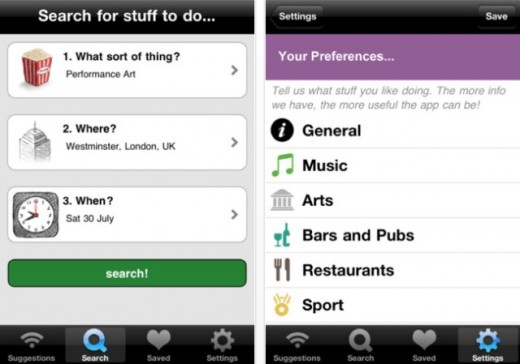 42 520x364 Find Stuff To Do: The iPhone and Web app that helps you find, erm, stuff to do.