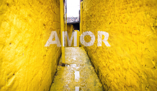 Boamistura Brasilandia Typographical Graffiti 15 520x302 How colorful typography brought beauty and pride to a Brazilian slum