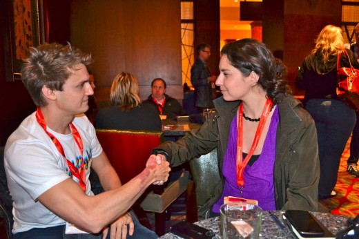 CEO OF HIGHLIGHT PAUL DAVISON AND JOANNA STERN OF ABC 520x346 TNWs Best Of: 5 days in Austin, Texas at SXSW