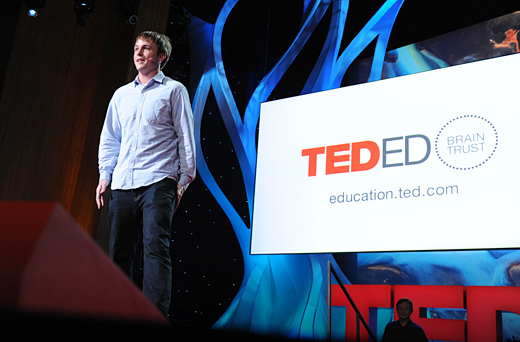 TED Ed LoganSmalley credit JamesDuncanDavidson TED launches its TED Ed YouTube channel: Short, animated videos for teachers and students