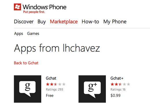 appslist dev 2 Why the Windows Phone Marketplace is looking more like a slimy app cesspool every day