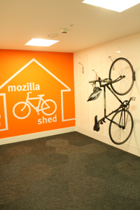 bikeshed200 A look inside Mozillas new London co working space