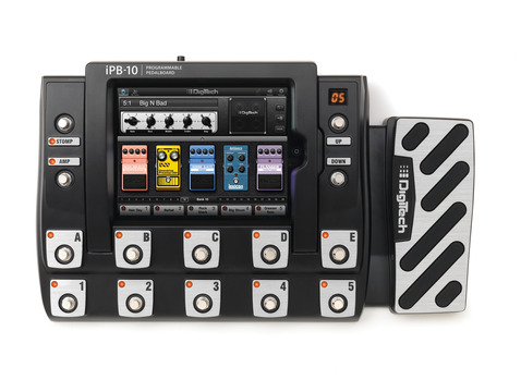 iPB 10 Top Turn your iOS device into a guitar effects powerhouse with the Digitech iStomp and iPB 10