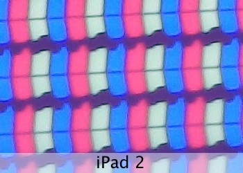 Up close and personal: What the new iPads Retina display looks like under a microscope
