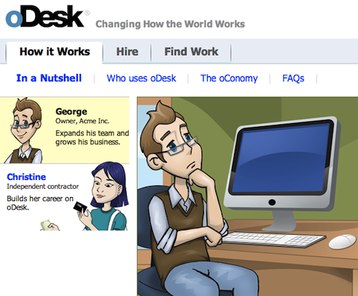 odesk Online work marketplace oDesk lands $15m, former Chegg exec as new CFO