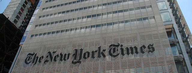 the new york times by Joe Shlabotnik