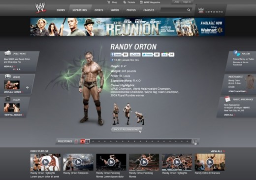wwe randy orton 520x365 WWE.com gets ready to rumble with site redesign, and goes social to boost fan engagement