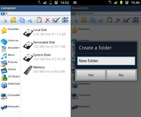 11 This file management app gives you Windows My Computer on your Android smartphone