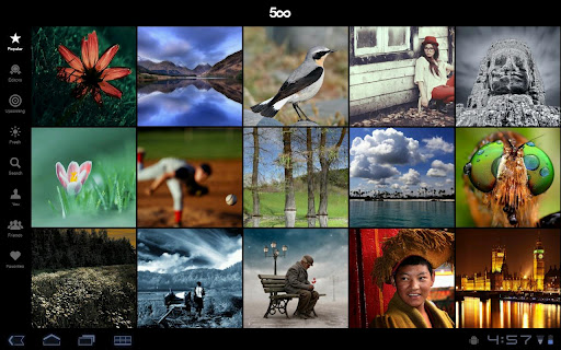 500px1android 500px launches Android app and overhauls its iPad version too
