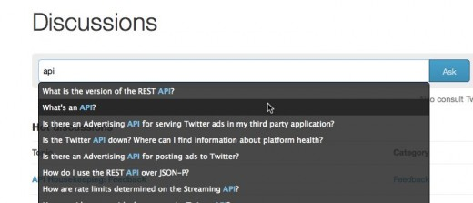 Discussions Twitter Developers 520x223 Twitter launches Frequently Asked Questions for developer community
