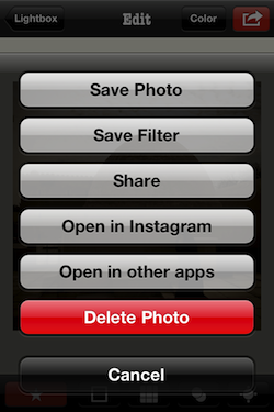 IMG 0572 Snapster lets you create custom vintage filters. And yes...its an Instagram alternative