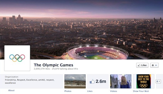 Olympics Facebook Alex Huot: London 2012 will be the first Social Media Olympics